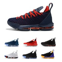 zapatos altos 16 al por mayor-Zapato de baloncesto para niños 2019 Oreo 16 16s de alta calidad para niños y niñas Zapatillas deportivas para jóvenes, niños de tamaño 36-40