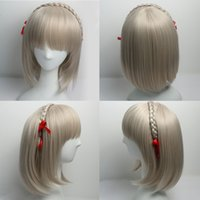 Wholesale White Wig Cosplay Long - Straight Synthetic Wigs for Women Mens Wig Heat Resistant Wig Cosplay Wigs with Bangs for White Women Long Hair Straight Wig with Bangs
