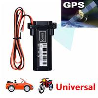 ingrosso portamonete della pista dell'automobile-Miglior prezzo all'ingrosso Cina GPS Tracker veicolo dispositivo di localizzazione moto impermeabile auto Mini GPS GSM localizzatore SMS con monitoraggio in tempo reale