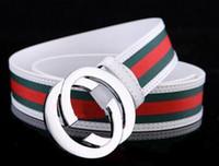 Wholesale Fancy Jeans - 2017 New model fashion luxury belts faux leather belts for men brand Strap male pin buckle fancy vintage jeans cintos free shipping