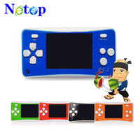 Wholesale 2.5 inch tv resale online - Netop RS Handheld Game Consoles Mini Protable Game Players Color Video Game Children Gifts Classic Games Box Also Sale PXP3 PVP GB NES