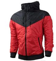 Wholesale Plus Size Spring Outerwear - Brand Designer Mens Coat Sweatshirt Hoodie Women Jacket Long Sleeve Spring Sportswear Zipper Windcheater Plus Size Outerwear with Logo