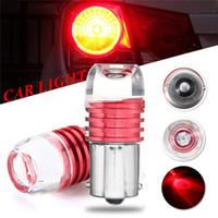 Wholesale car lamp bulb 3157 resale online - 10X LED Auto Car Reverse Light Lamp Bulb Bright White Car Signal Lamp Turn Brake Lights New