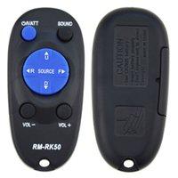 reemplazo del estéreo del coche al por mayor-Reemplazo del control remoto Transmisión remota Control remoto inalámbrico adecuado para el estéreo del auto RM-RK50 RM-RK52