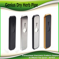 Wholesale Dry Smoke Vaporizer Wholesale - Genius Pipe Dry Herb Portable Pocket Kit Size Smoking Pipes Vape Pen Smoke Vaporizer Kits