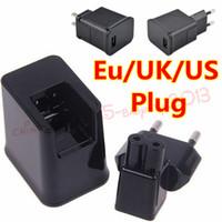 cable cargador de pared uk al por mayor-cargador de pared 2 en 1 Eu EE. UU. EE. UU. 2A Adaptador de corriente de viaje a casa + cable de cable USB para samsung galaxy tab 2 3 P1000 P7500 P7300 N8000