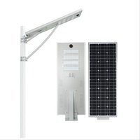 Wholesale solar panel roads for sale - 50W Led Solar Street Light W W W W Waterproof LED Road Light Years Lifespan Mono solar panel Security lamp