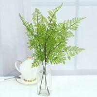 eşsiz ev süslemeleri toptan satış-Mini 40 cm Yapay Çiçekler Yeşil Bitkiler Sahte Simülasyon Çiçek Ev Yatak Odası Oturma Odası Düğün Için Parti Benzersiz Süslemeleri 1 76qh BZ