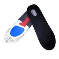 стелька обивка для обуви оптовых-Men&Women Sport Hiking Pad Professional Outdoor Unisex Absorption Basketball Football Shoes Pads Rubber Soft Insole