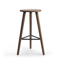 antiquitäten holzstühle großhandel-Industrielle Vintage antiken Barhocker Stuhl Höhe 66cm Runde Sitz Holz Loft-Stil Möbel Barhocker Bein Massivholz