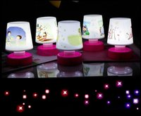 online shopping Pats Led - Hot Sale - Children's Creative Mini Flashing Cartoon Pat Designed LED Lamp Boys and Girls Bedroom's Night Light