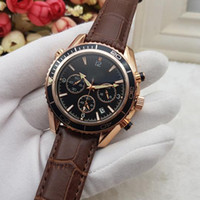 Wholesale belt watches for women for sale - Group buy All Subdials Work Mens women Stainless Quartz Wristwatches Luxury Watch Top Brand relogies for men relojes