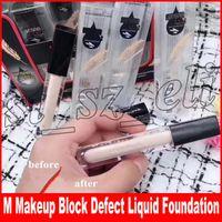 Wholesale block defect for sale - Group buy New Brand Face Makeup Block Defect Liquid Foundation Light Feather Waterproof Moisturizing Concealer colors