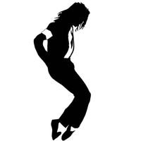 jackson wall venda por atacado-1 Pcs Michael Jackson Adesivo Parede Da Janela Do Carro Bumper Laptop Etiqueta Do Carro Decoração Styling