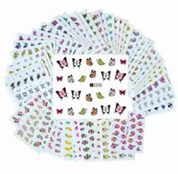Wholesale Flower Water Transfer Nail Stickers Decals Art Tips Decoration Manicure Stickers Ongles Sheets Set Mixed