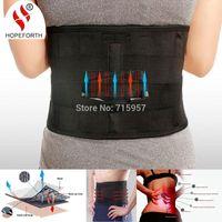 ingrosso cintura di protezione posteriore-Hopeforth Supporto lombare Brace Vendita calda Moda Mesh traspirante a quattro piastre di protezione sul retro Cintura di sostegno per la vita