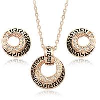 ingrosso gioielli in pietra bianca-3 confezioni di orecchini, collane e set di gioielli squisiti per uomo e donna