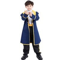 Wholesale beauty beast costume for kids for sale - Group buy Umorden Halloween Costumes Prince Costume Boys Beauty and Beast Adam Cosplay for Kids Children Carnival Party Fantasia Suit