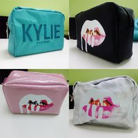 Wholesale Limited Edition Makeup - Kylie Cosmetics Bags by Kylie Jenner Holiday Collection Make-Up Bag Limited Edition Kylie Makeup Collection Bags Free