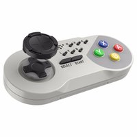 Wholesale snes wireless controller online - 2018 Wireless Turbo Controller Joystick Gamepad With Package for SNES Mini Classic Edition