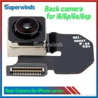 iphone 5g arka kamera toptan satış-Geri Arka Ana Kamera Modülü Flex Kablo Yedek Parça Tamir iPhone 5 5g 5 s 5c 6 6 artı 6 s 6 S Artı 5.5
