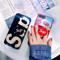 Wholesale New Designer Phone Case sup Fashion Brand Phone Case with Airbag Lanyard Anti fall for IPhone X Xs max S plus S Plus plus plus