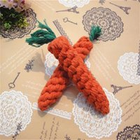 Wholesale accessories for dogs puppies for sale - Lovely Dog Toys Pets Puppy Chew Toys Solid Cotton Radish Fashionable Toy Teether Pet Accessories For Small Dog mc X