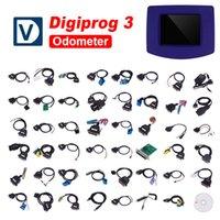 Wholesale Digiprog Full Set - 2018 New Designed Digiprog III V4.88 Full Set Digiprog 3 Auto Odometer Correction Tool High quality with 3 Years Warranty