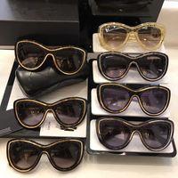 óculos de sol de marca china venda por atacado-China Moda de Luxo Da Marca Praia Óculos De Sol Das Mulheres Do Vintage Da Marca Designer de Óculos de Sol Full Frame Marca Logotipo Mulheres Qualidade Superior com Caixa