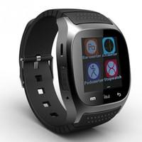 kablosuz fitness saati toptan satış-M26 Bluetooth İzle Kablosuz Telefon Bilezik Kamera Uzaktan Kumanda Anti-kayıp alarm Barometre IOS Android için saatler