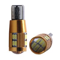 Wholesale w5w bulbs canbus online - T10 SMD W5W Canbus LED Car Width Light Parking Backup Turn Signal Dome Map Lamp Energy saving