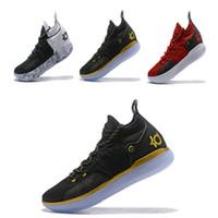 hot sale online d6ca9 16260 neue 2018 Designer Schuhe Zoom KD 11 Männer Basketball Schuhe KDs XI Kevin  Durant Outdoor-Sport Fmvp Kampfstiefel Größe von 7-12