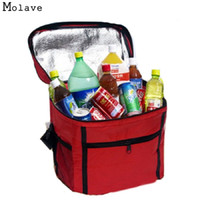Wholesale Insulated Lunch Bag Black - Naivety Lunch Bag New Fashion Thermal Cooler Waterproof Insulated Tote Portable Picnic New JUL22 drop shipping