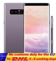 Wholesale Ota Otg - Best Version Goophone note 8 note8 6.3inch Edge Curved Fingerprint 4G Lte Octa Core 2G Ram 16G Rom Add 64G Card Shown 64G ROM Android 7.0
