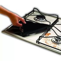 Wholesale Household Foil - Household Protection Pad Easy To Clean Mat Square Resuable Aluminum Foil Gas Stove Burner Cover Protector Liner Durable 2 2yf B