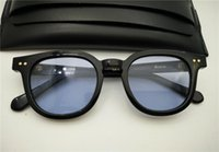 moda óculos korea venda por atacado-homens Top Quality suave V Acetato Marca noite Óculos Coréia moda Bowie oculos óculos de sol mulheres sol óculos monstro vindo com caso occhiali