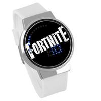 ingrosso migliori orologi elettronici-2018 La migliore vendita Fortnite Battle Royale orologio adolescente cartoon orologio da polso orologi elettronici spedizione gratuita 63 stili