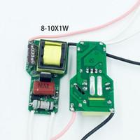 fuente de alimentación del controlador de la lámpara led al por mayor-LED Dimmable Driver 3 ~ 10W Fuente de alimentación 3W 4W 5W 6W 7W 8W 9W 10W Dimmable Transformador para lámpara LED