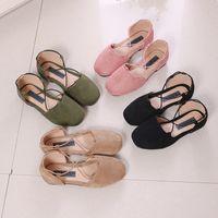 Wholesale korean wearing dresses - Fashion 2018 Spring sweet Summer Girls Casual Shoes Korean Kids Dress Shoe Girls princess Shoes Children Footwear Girl Shoes Girl Wear A1605