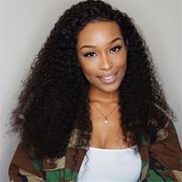 18 kıvırcık insan saç toptan satış-Brezilyalı Dantel Ön Peruk Kıvırcık İnsan Saç Peruk. Siyah Kadınlar için Dantel Ön İnsan Saç Peruk, Kinky Kıvırcık İnsan Dantel Ön Peruk