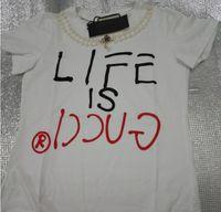 logo japanese toptan satış-Japon Anime Canavar Baskı Ceket Kadın T-shirt Popüler Logo Sokak Stili yumuşak kumaş tees womens Tişörtleri
