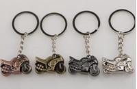 ingrosso anello chiave del motociclo 3d-Portachiavi portachiavi con portachiavi moto classico portachiavi in moto