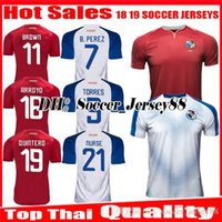 Wholesale purple nurse - 2018 2019 PANAMA top thai quality Home Away world cup Soccer Jersey NURSE GODOY TORRES OVALLE QUINTERO 18 19 jerseys uniforms FOOTBALL SHIRT