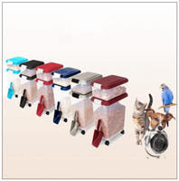 Wholesale feeding cats dog food - 4.5L Pet Food Storage Container Holder Feed Dog Cat Food Container Bin Seal Fresh Dog Feeder Food Supplies With Scoop CCA9735 10pcs