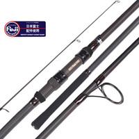 12ft 13ft carp fishing rod fuji reel seat quality 3 sections spinning surf 3.6m 3.9m carbon fiber fishing rod 3.75lb