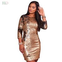 kardashian vestidos para ocasiones especiales al por mayor-vestido de coctel con lentejuelas más tamaño sexy oro sin respaldo kim kardashian Vestidos Dubai árabe vestido de fiesta especial Vestido de fiesta
