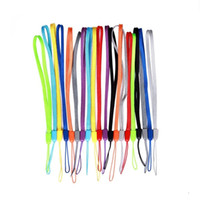 Wholesale wrist straps for cell phones for sale - Group buy Universal cell phone wrist hand Straps Colorful straps Nylon Short Hang Wrist Ropes Hang Rope Lariat Lanyard for Phone Camera USB MP4 PSP
