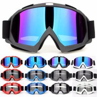 Wholesale helmets cross country - Motorcycle Goggles Equipment Cross Country Goggles Helmet Riding Outdoor Goggle X600 Scrub Goggles Eyewear Support FBA Drop Shipping H453F