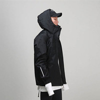 Wholesale trench coat men s fashion - Men's Windbreakers Kanye West Fear of God Trench Coat Man's Raincoat Justin Bieber Hip Hop Man Jacket Casual Thin Men's Coat