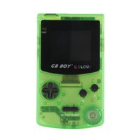 Wholesale gift gb for sale - Group buy 66 in GB Boy Colour Mini Handheld Game Player quot Color Screen Portable Classic Game Console Consoles With Backlit Best Gift fot Kids